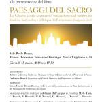 INVITO PAESAGGI DEL SACRO